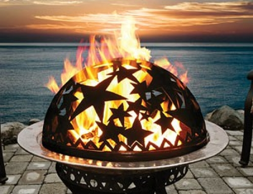 Surrendering to autumn with fire ceremony