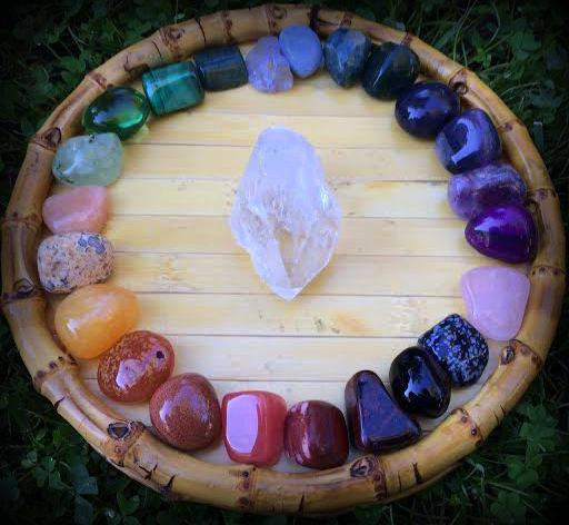 Gratitude Giveaway: The Chakra Dream gemstone set