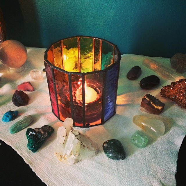 chakra altar