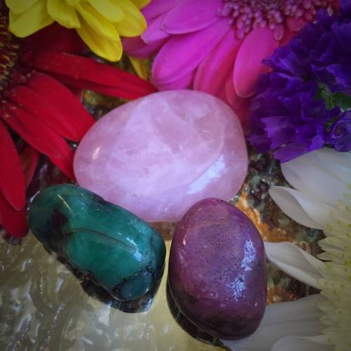 Commitment Gem Set for love that transcends all forms and boundaries