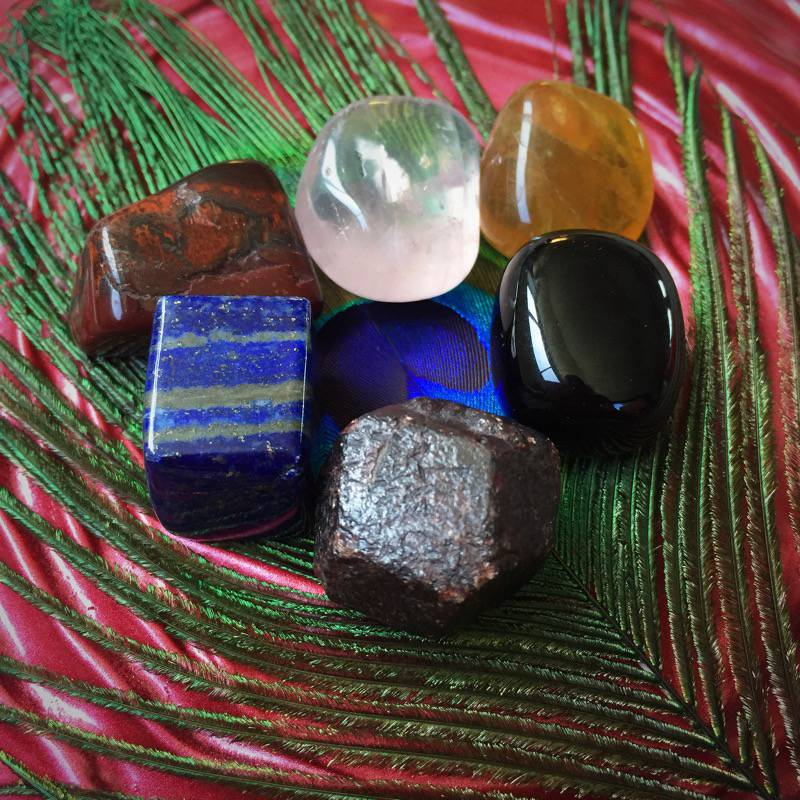 Sabbatical July Gem Wise-Stones of the Female Archetypes