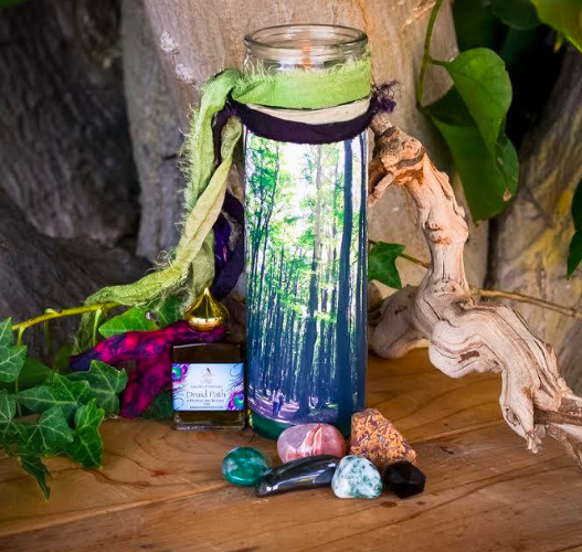 Druid Magic Woodland Realm Set - Tools for Connecting with Nature Spirits