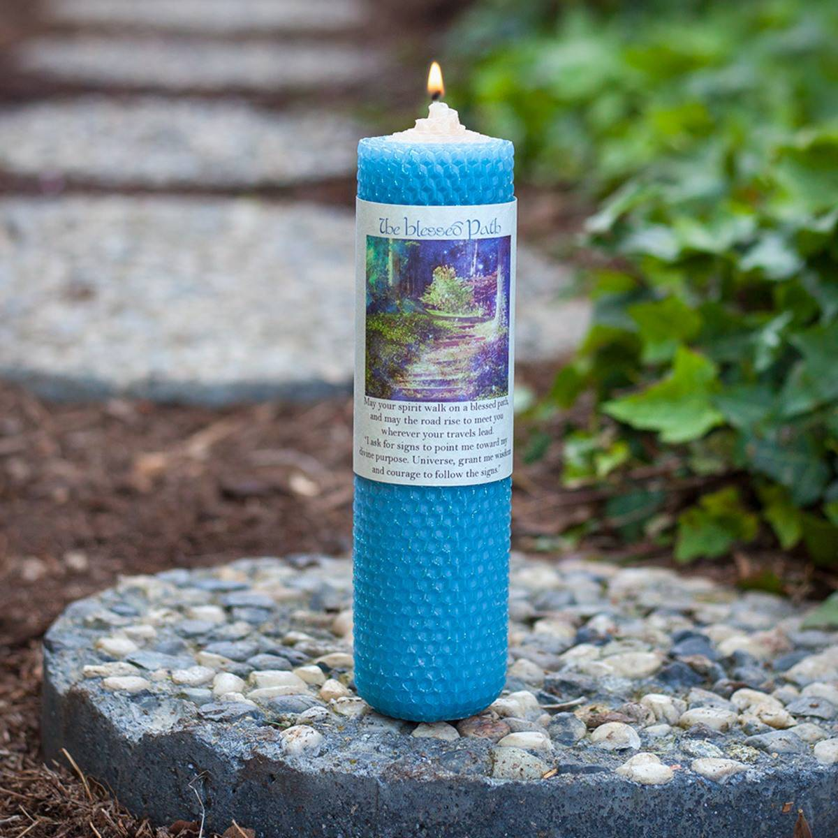 The Blessed Path Candle 4_21