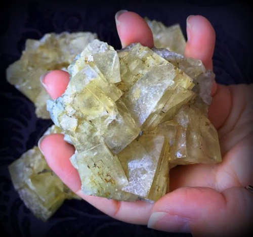 Golden Fluorite to manifest material prosperity in your life