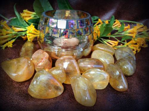 Yellow Fluorite - The Money Drawing Stone brings wealth