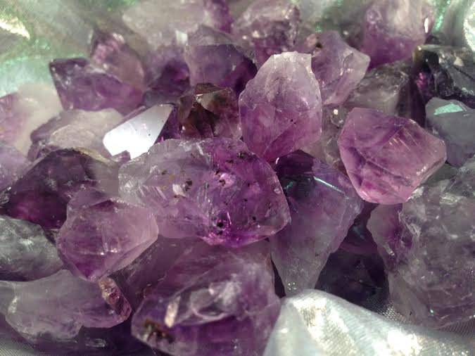 Premium Small Amethyst Points - The Boundary Stone for creating peace