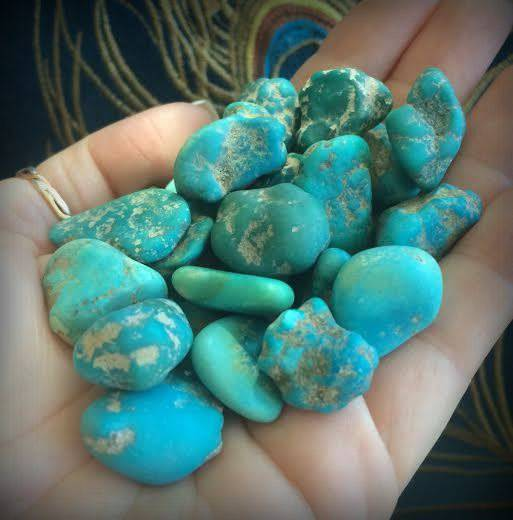 SUPER Rare Kingman Turquoise - The Stone of Healing