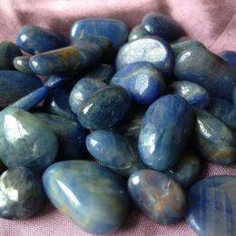 Tumbled Sapphire - The Stone of Royalty