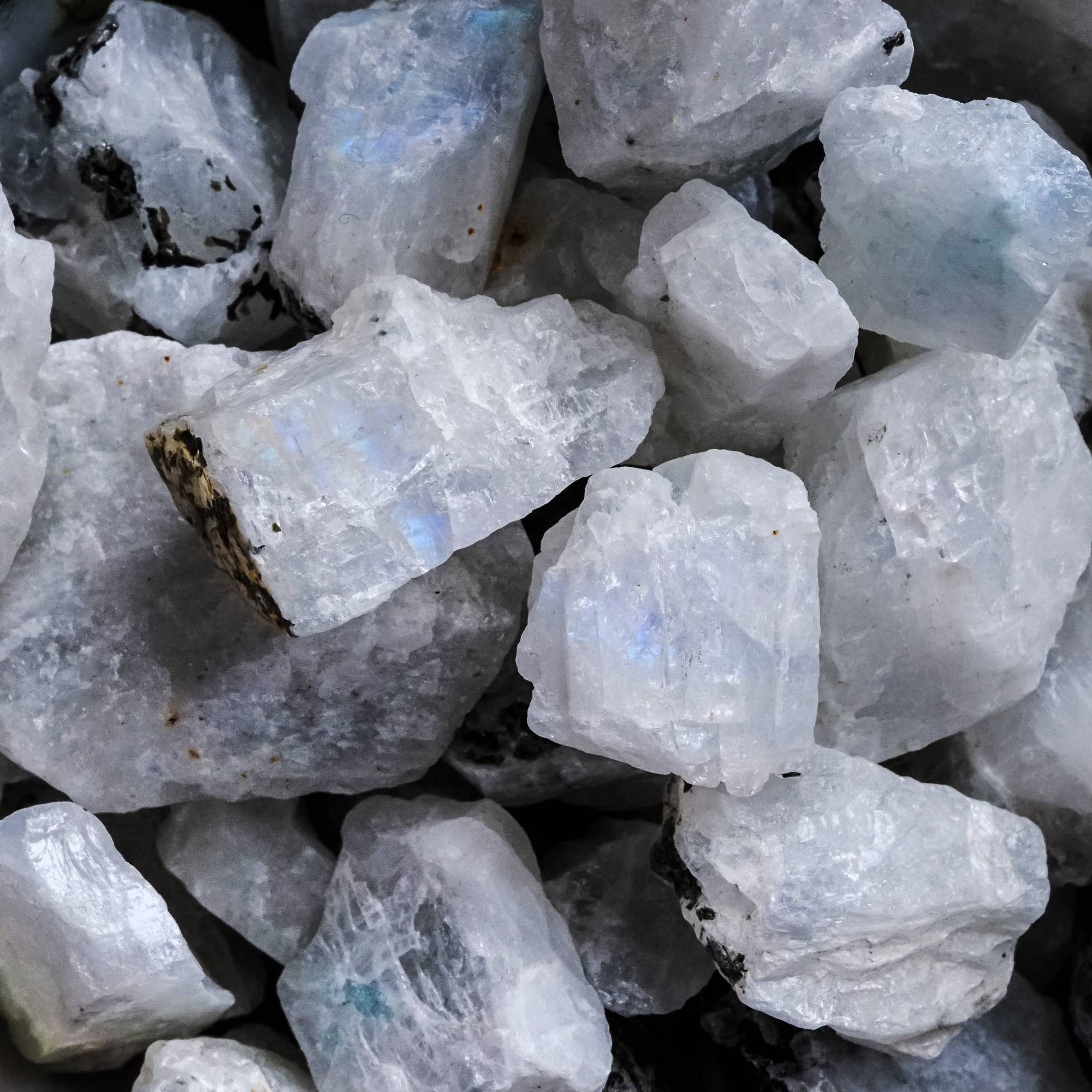 natural rainbow moonstone the prism stone for magic mirroring