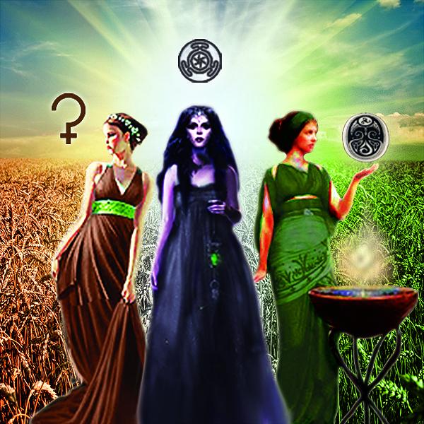3 Goddesses of harvest