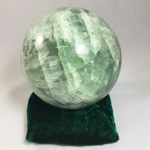 07 Huge Green Fluorite Sphere