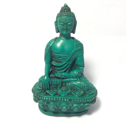 34-35 Buddha Green Statue