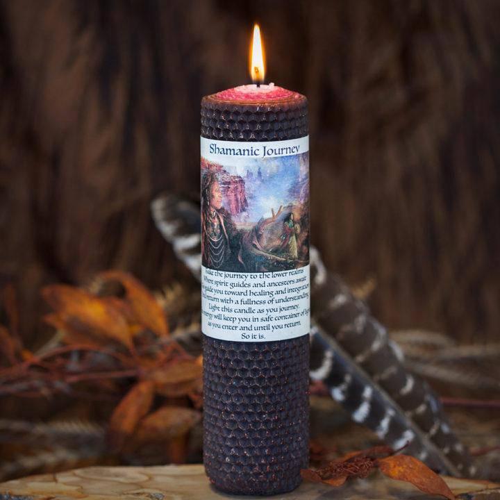 Shamanic Journey Rolled Candle 4_30