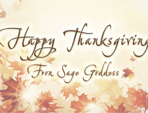 Thanksgiving Invocation From Sage Goddess