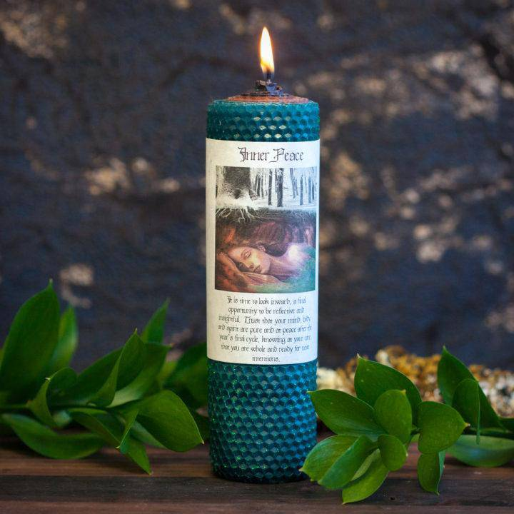 Inner Peace Rolled Candle 6_26