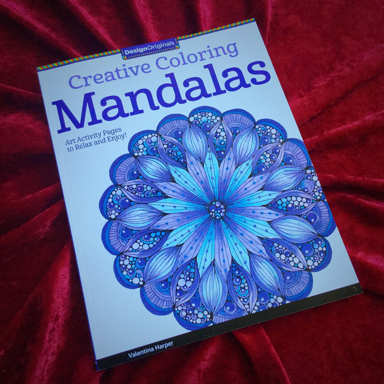 Creative Coloring Mandalas by Valentina Harper for a vibrant ...