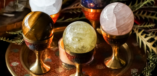 How to Work With Gemstone Spheres in Ritual and Practice