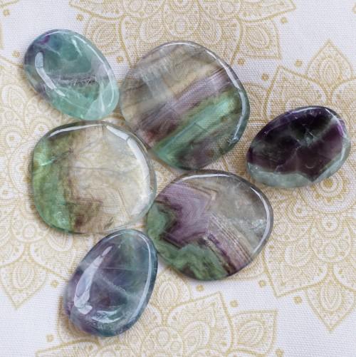 fluorite worry stones 1