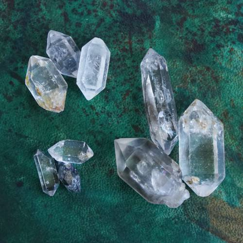 double terminated tibetan quartz points
