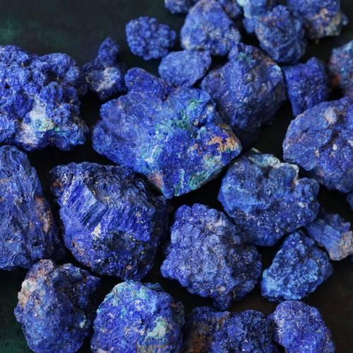 natural azurite