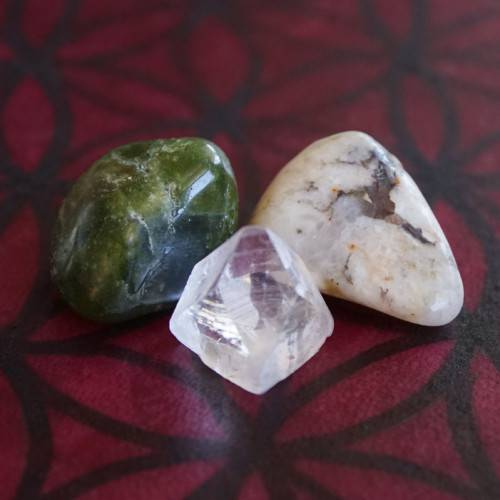 tetragonal crystal trio