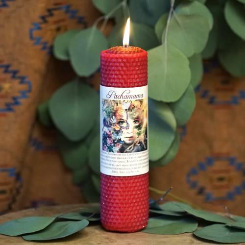 Pachamama candle