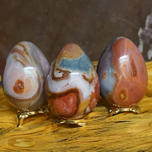 polychrome jasper eggs