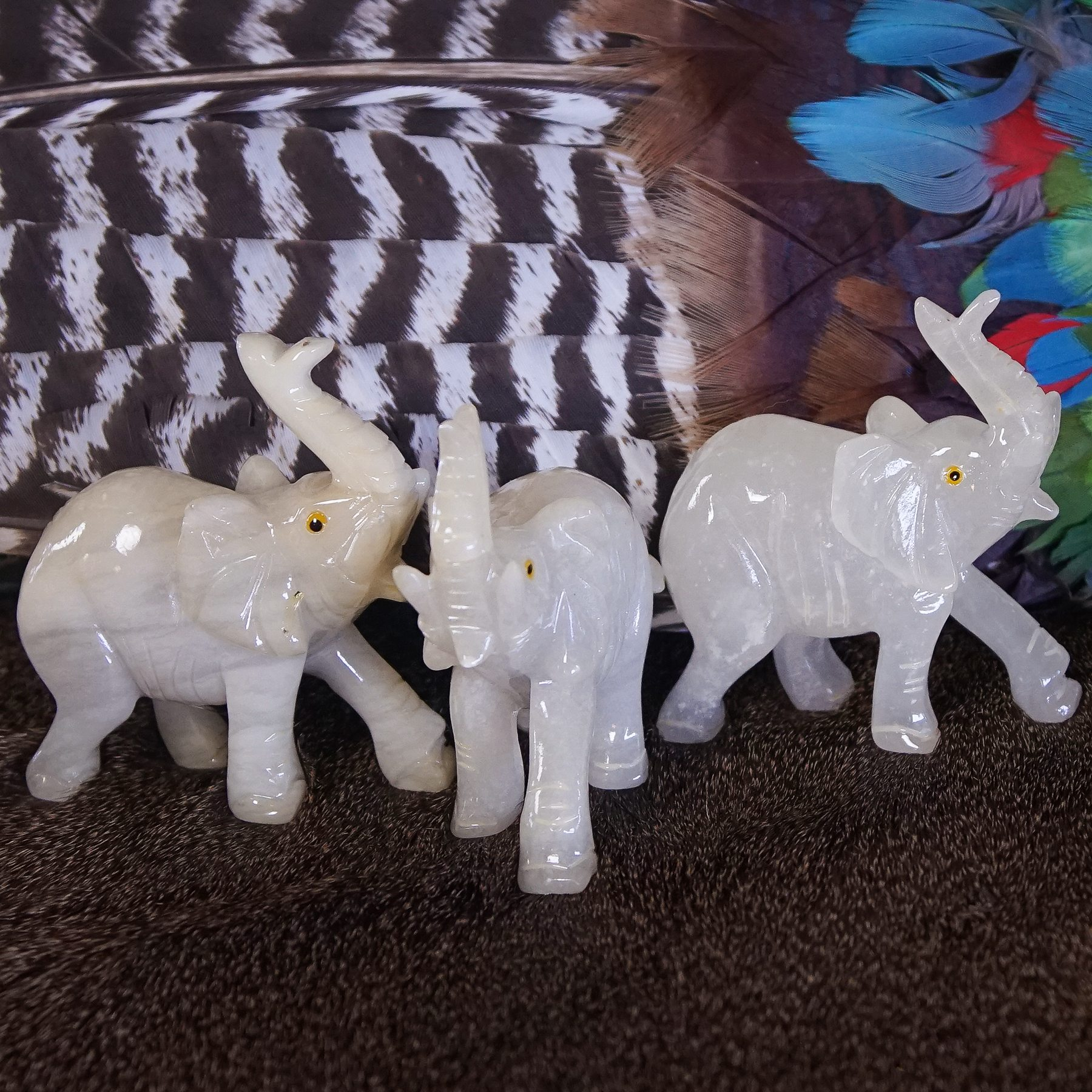 Grey Stone Elephant Statue Ask For Price