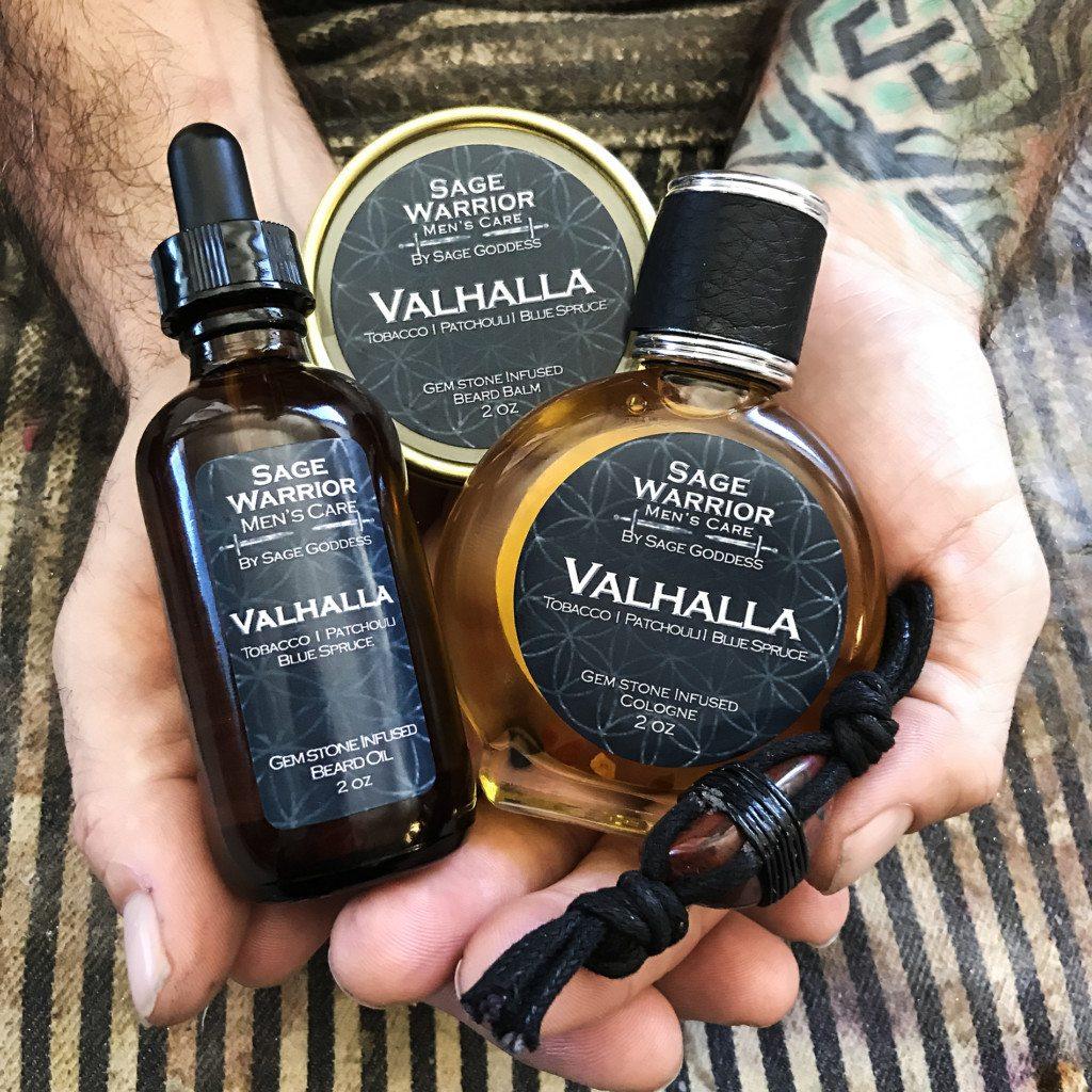 Sage Warrior Men\'s Line by Sage Goddess: Valhalla trio