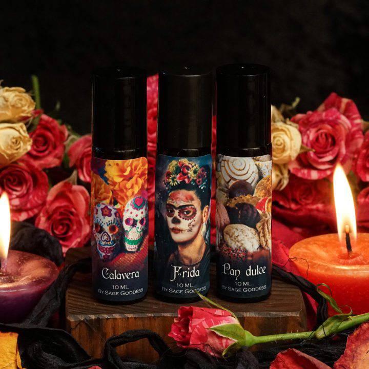 Día de los Muertos Perfume Trio