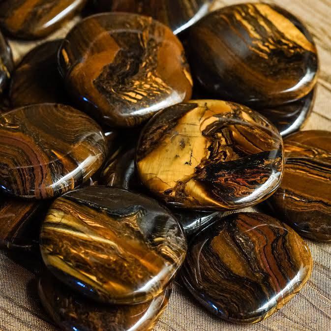 Tiger Iron Palm Stones