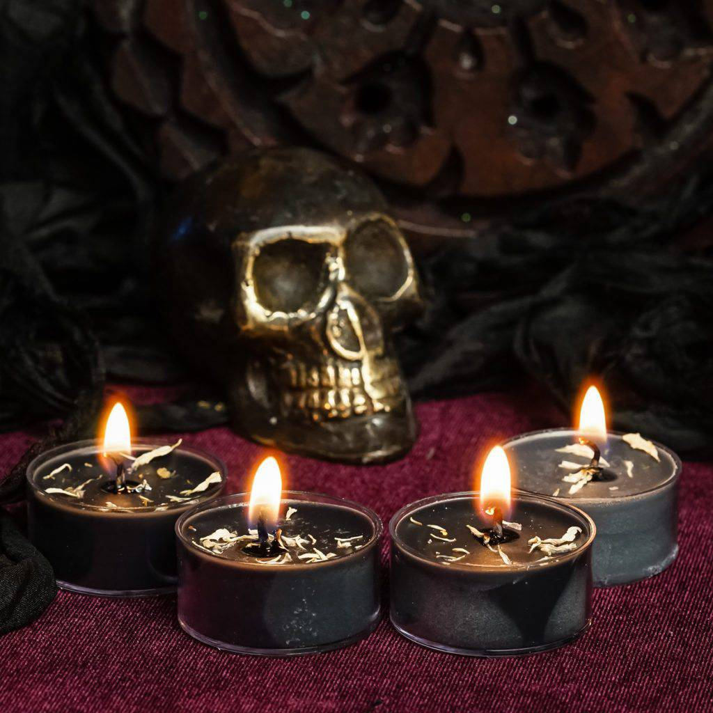Samhain tea lights
