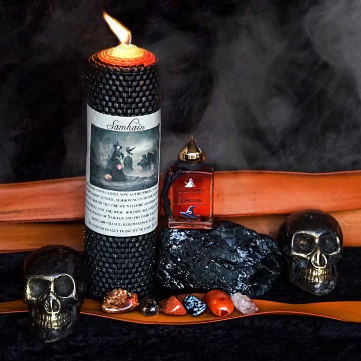 samhain ritual set
