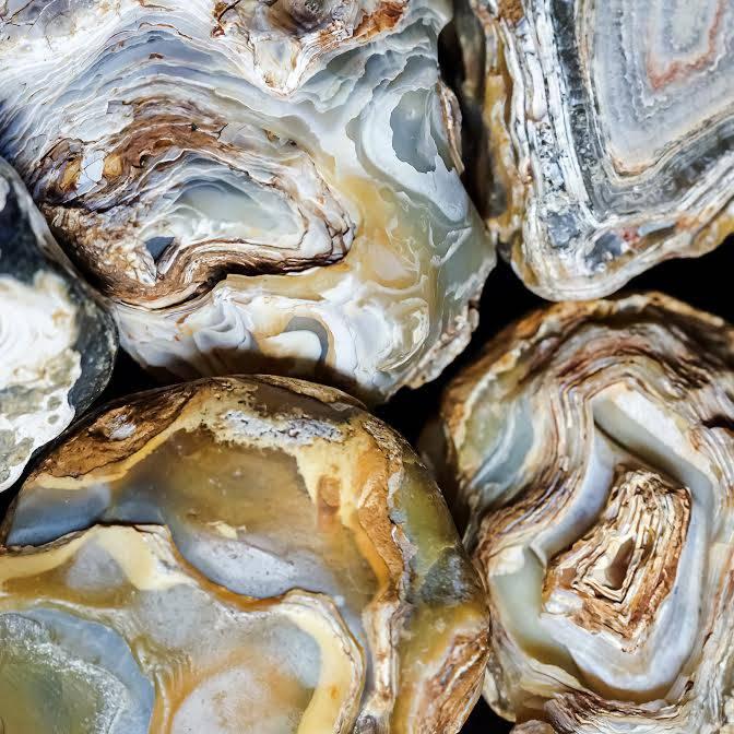 Natural Agate Portal Stones