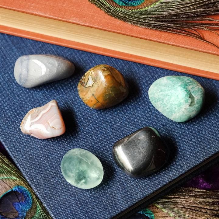 academic achievement gemstone set