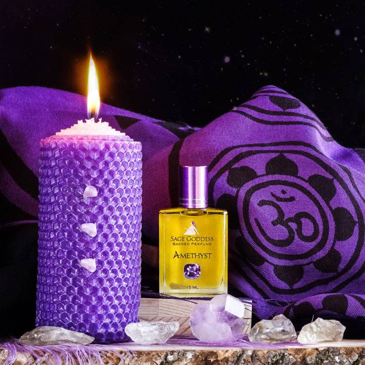 February Month of Magic amethyst balance and peace set