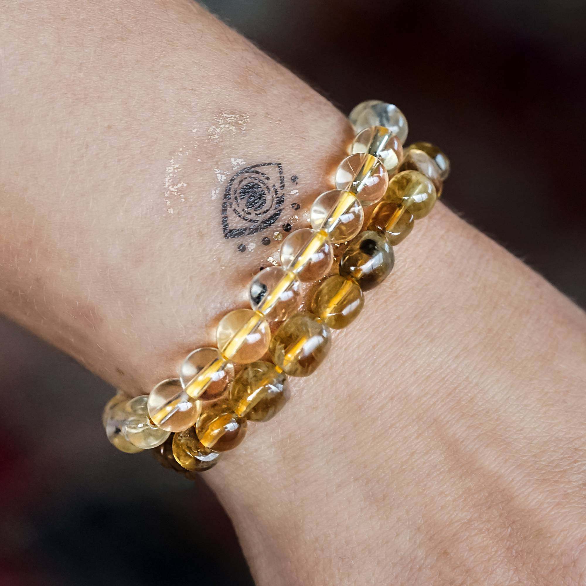 bracelet jewelry citrine mavrik collections yellow bracelets products gold peridot pridot