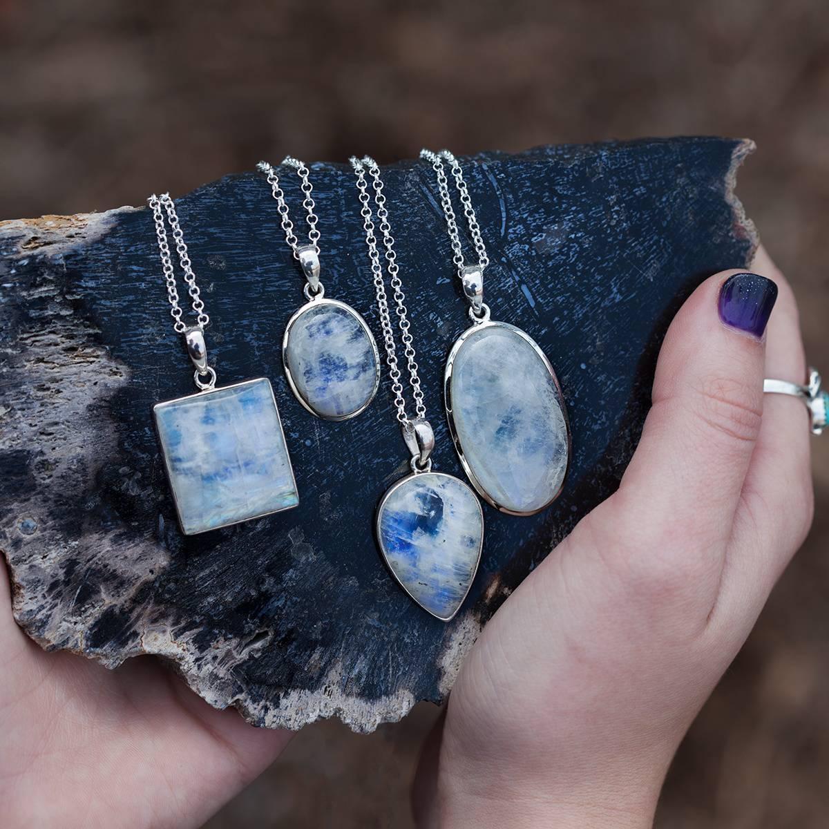 Rainbow moonstone pendants for opulence and radiating luminosity rainbow moonstone pendants for opulence and radiating luminosity 3700 aloadofball Images