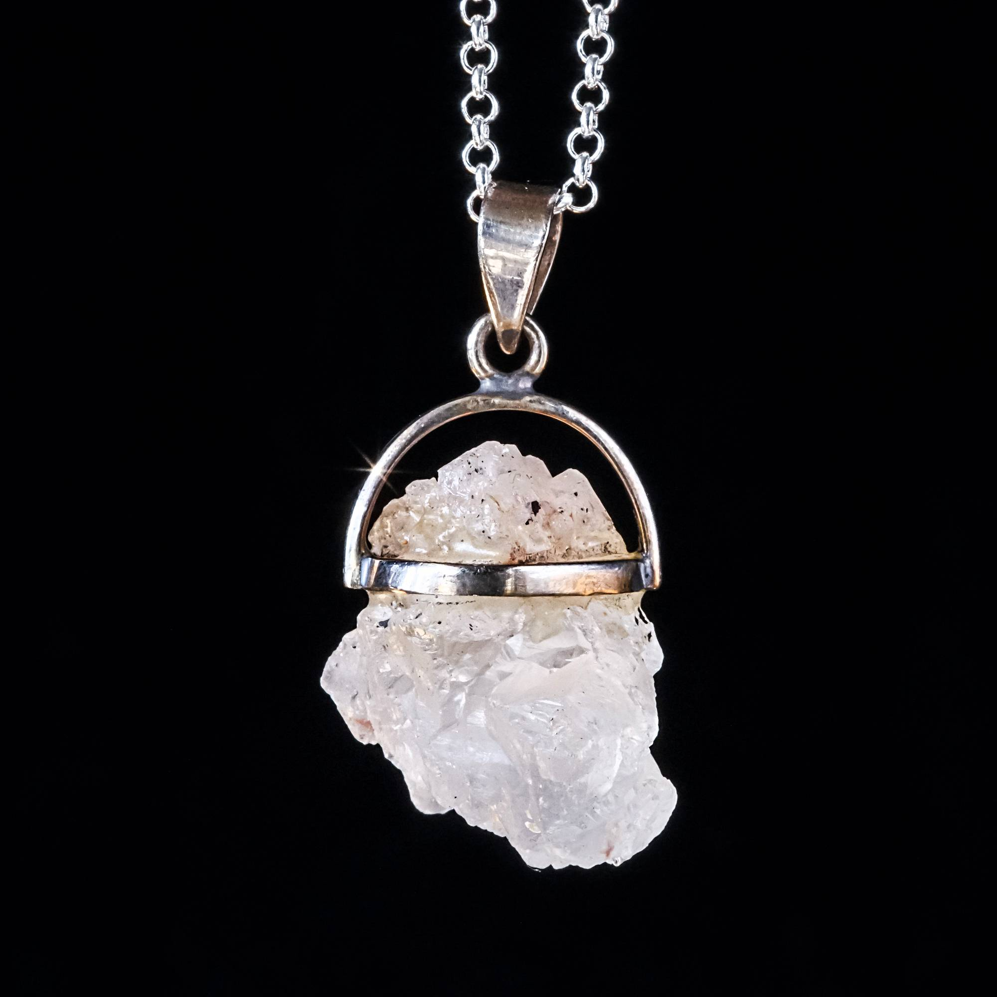 Nirvana quartz pendants for heart healing and enlightenment nirvana quartz pendants mozeypictures Image collections