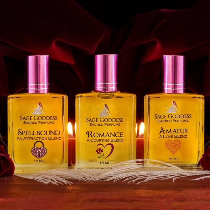 valentine's day perfume trio