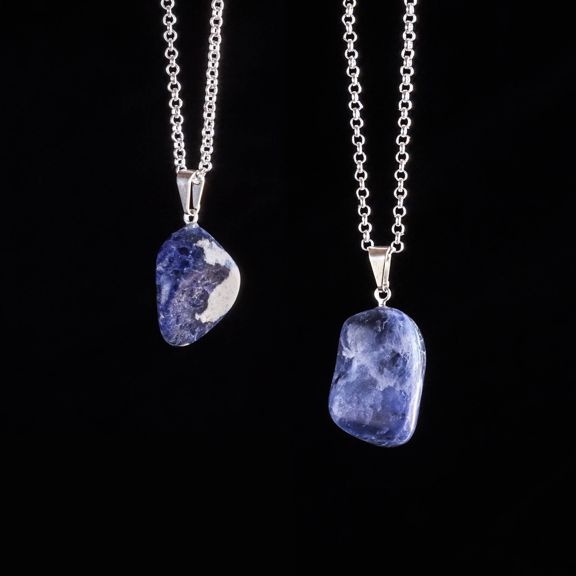 Sodalite drop pendants for serene third eye knowing sodalite drop pendants aloadofball Image collections