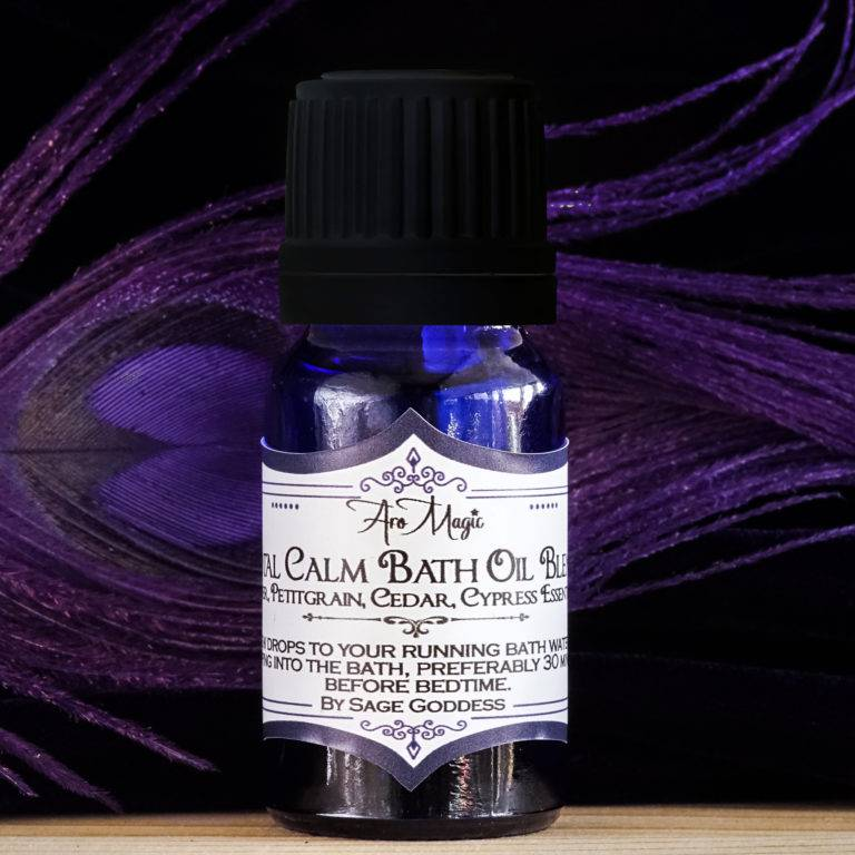 AroMagic Total Calm Bath Oil for relaxation and rejuvenation