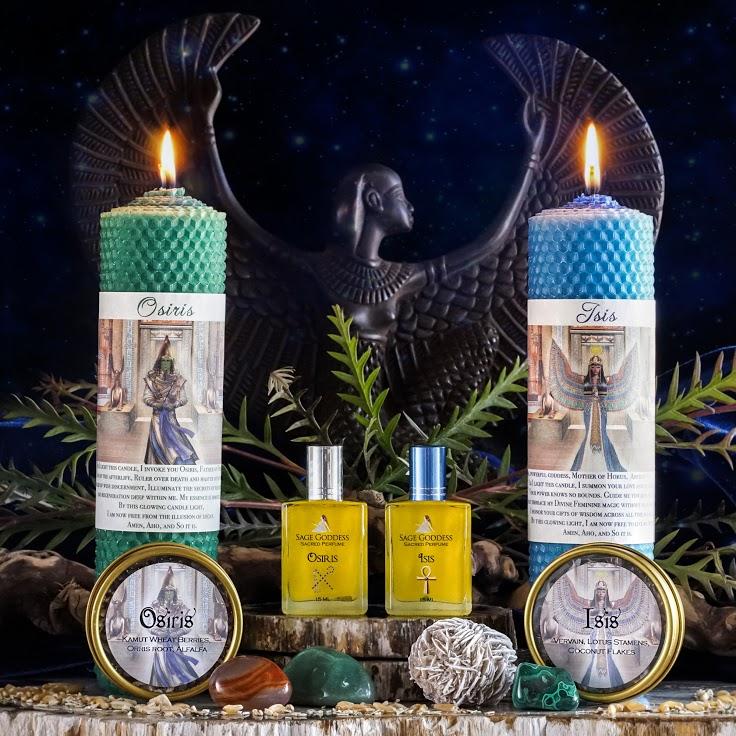 Ritual Sets Honoring Isis and Osiris