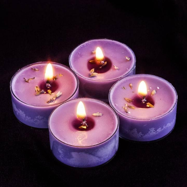 tranquility tea lights