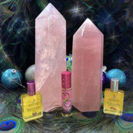 Rose_Quartz_Universal_Love_Generators_with_Intuitive_Love_Perfume_DD_1of4_11_22