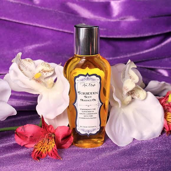 Forbidden Body Massage Oil for sensual pleasure