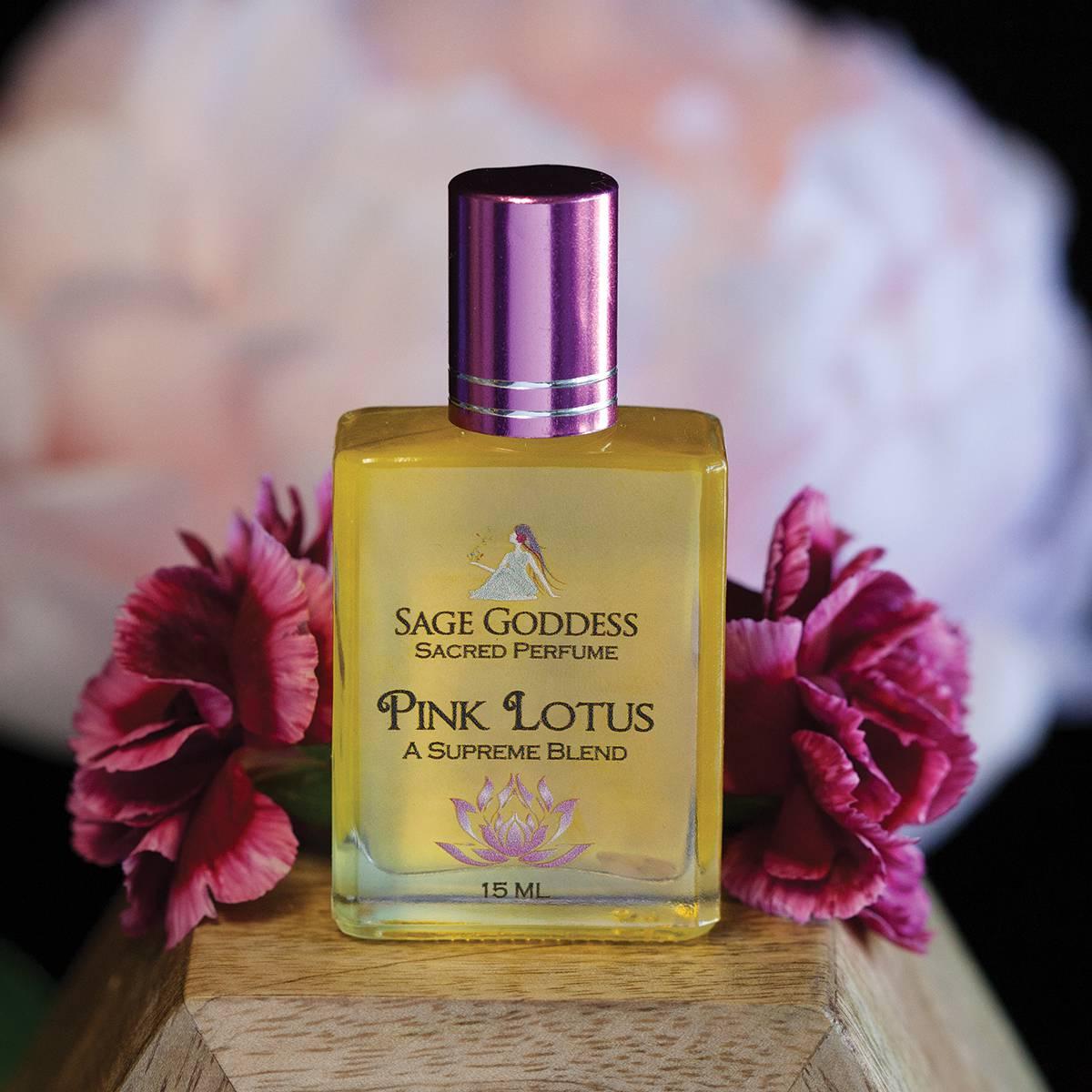Lotus perfume trio for ritual and magical use blue lotus perfume 3800 5900 mightylinksfo