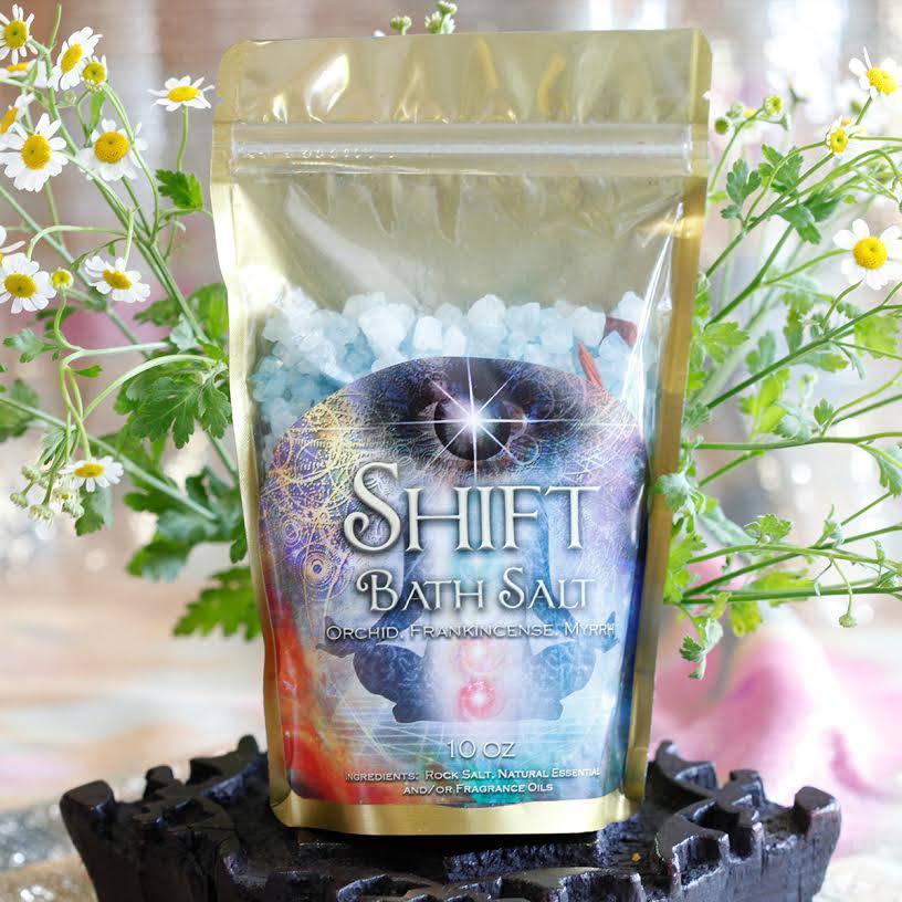 Shift bath salts