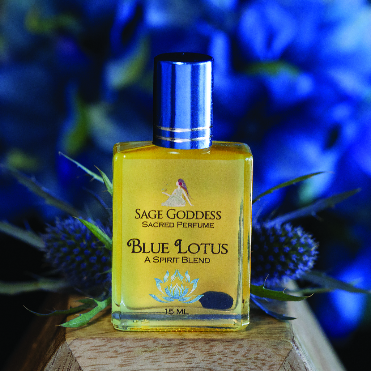 Limited Edition Blue Lotus Perfume For Spiritual Transformation And