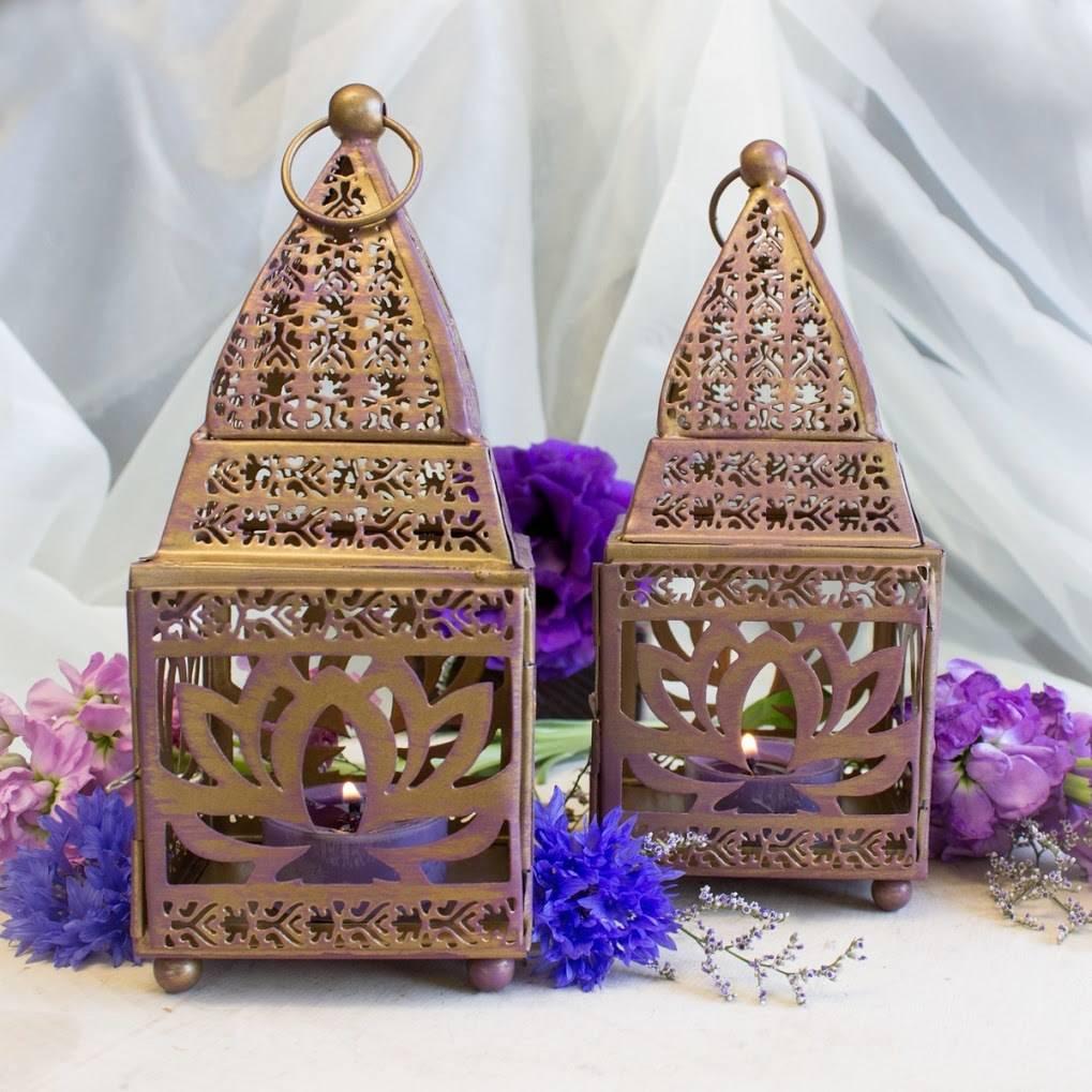 Purple lotus flower lantern for sweet illumination and spiritual purple lotus flower lanternv mightylinksfo
